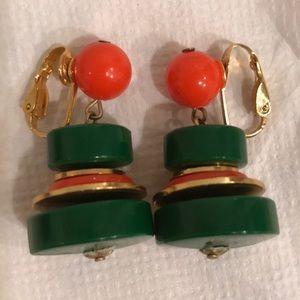Awesome Vintage Dangle Earrings
